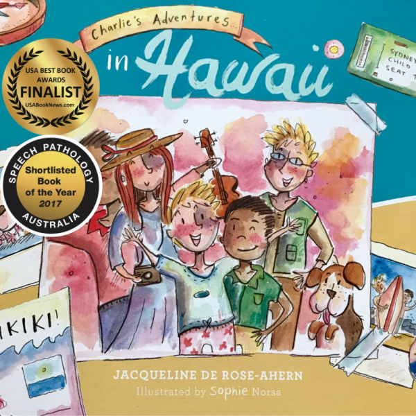Charlie's Adventure…in Hawaii with stickers