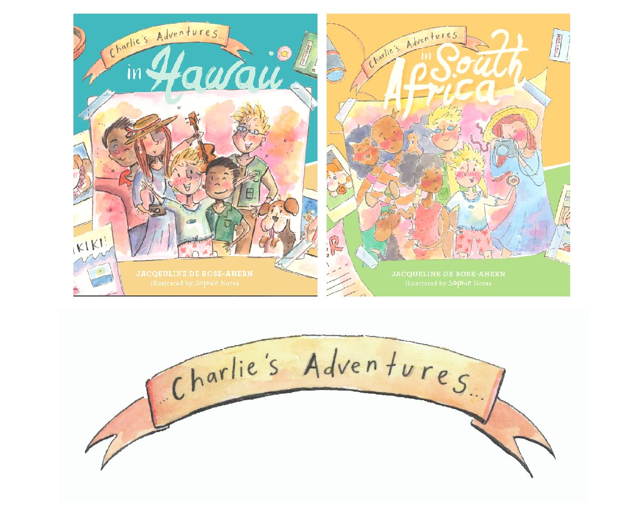 Charlie's Adventures…Two Pack